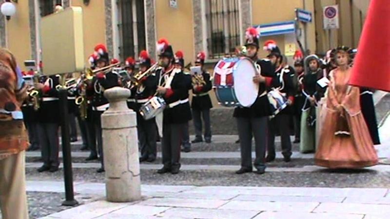 Marcia Reale del Regno d'Italia 👑 Novara 22 settembre 2011 Avanti Savoia W il RE!👑