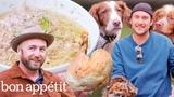 Brad Prepares and Cooks Pheasant It's Alive Bon App