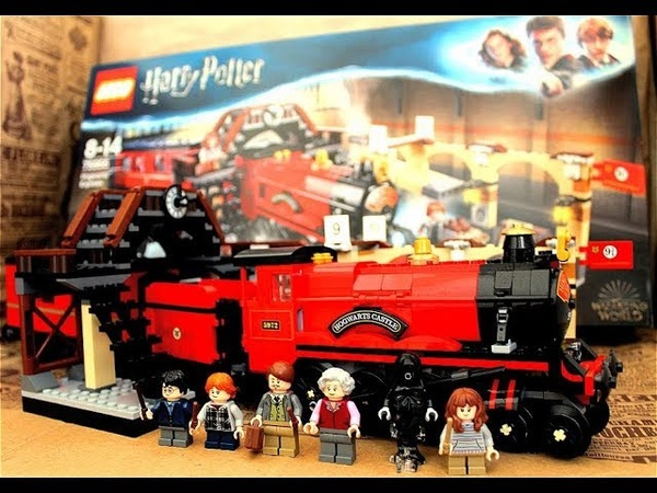 Lego Harry Potter Хогвартс Экспресс Обзор