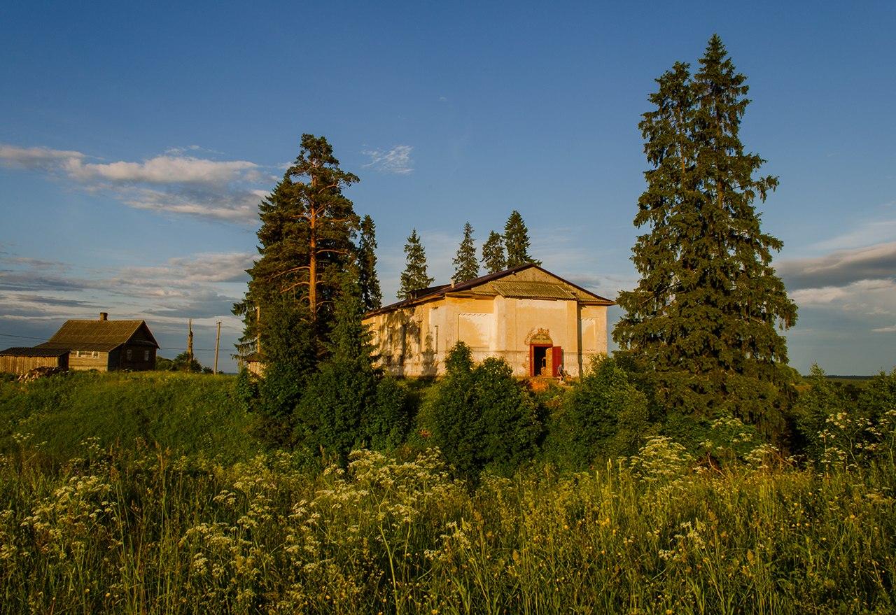 Висленев Остров. Церковь Георгия Победоносца
