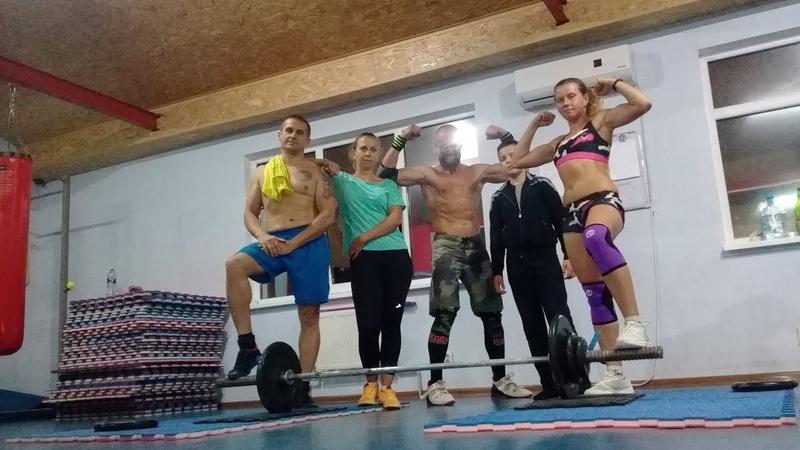 Рывок на д.р. тренера. Кайдзен-кроссфит т.а. 11.09.2018