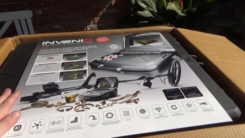 Распаковка металлоискателя за 10000$ - Nokta Invenio.