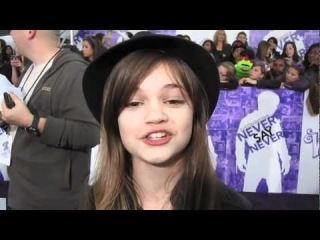 Ciara Bravo at Justin Bieber's Never Say Never 3D Movie Premiere