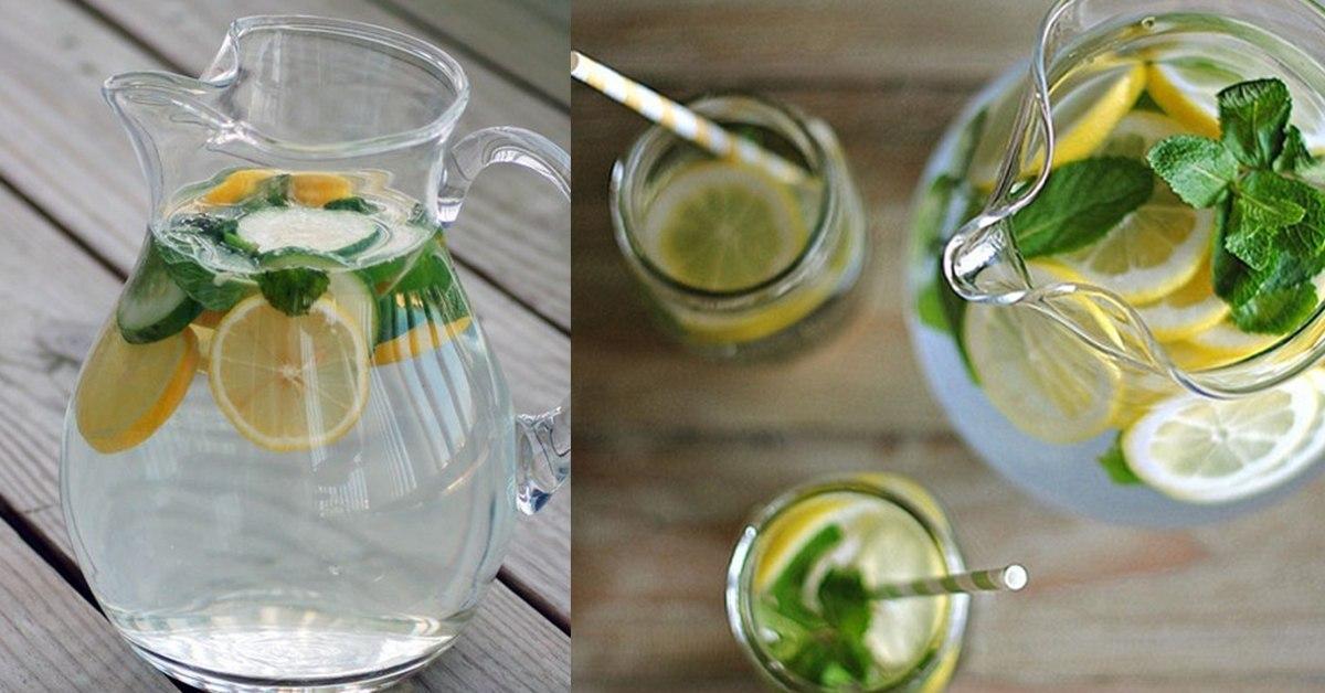 Напиток из лимона и мяты рецепт похудения
