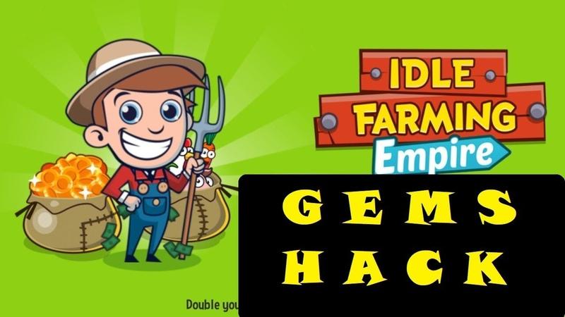 IDLE FARMING EMPIRE. КАК ПОЛУЧИТЬ МНОГО ГЕМОВ, КРИСТАЛЛОВ. GEMS HACK. PomaIIIka