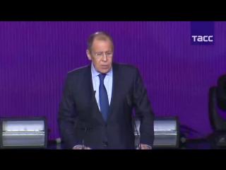 Выступление Сергея Лаврова на Международном форуме добровольцев
