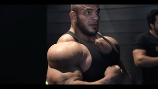 "BIG RAMY on Instagram: ""BIG RAMY SMASH !!! . NOT GONNE FALL #EMINEM . دعواتكم يارجالة @gatsupplements @gorillawearusa @ryderwear @schieksport..."