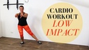 20 Minute Low Impact Cardio Workout – No Jumping Low Impact Cardio Exercises at Home – No Equipment