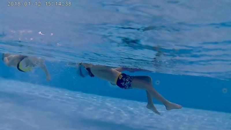 Видео тренировки по плаванию для детей с Евгением Аникеевым