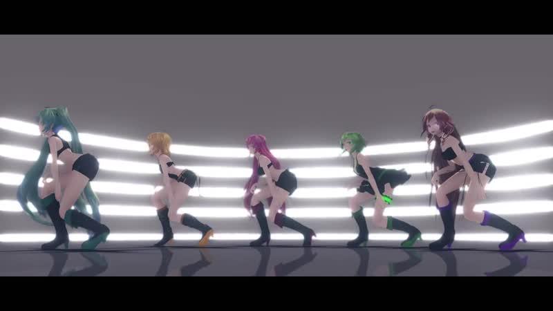 [MMD PV] ¦ Love Me If You Can - DIVINE DIVA 【Luka, Miku, Gumi, IA, Rin】¦