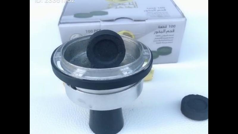 树的烟具,水烟视频580 50片装 40直径 大片易燃木炭 引燃视频分享 shisha hookah charcoal IMG 1261