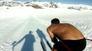 Speed skiing on crosscountry by Petter Northug