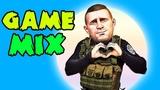 ВЕСЁЛЫЙ GAME-MIX #56 (PUBG, Escape from Tarkov, The Witcher 3, Hunt Showdown, S.C.U.M.)