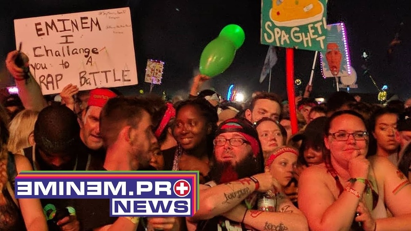 People are in panic after they hear gunshots at Eminem's Bonnaroo show
