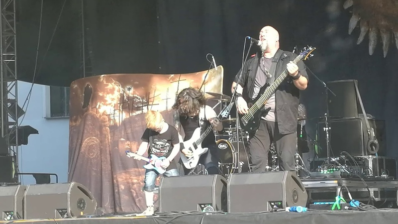 Rage with little fan - Nevermore - Metalfest 2018