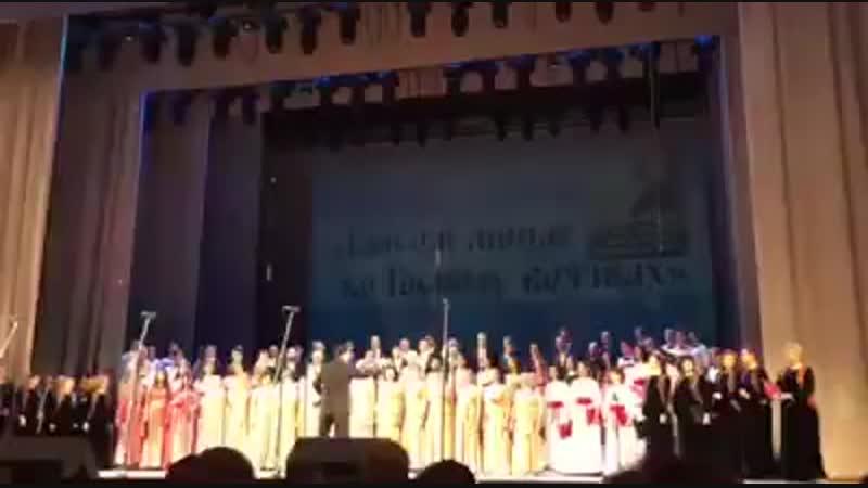 Финал гала концерта фестиваля Гласом моим ко Господу воззвах, посвященного памяти А.А.Архангельского, 2016 года.