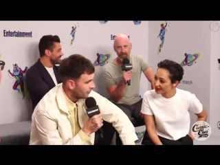 Entertainment Weekly Comic Con 2018, cast of Preacher (rus sub)