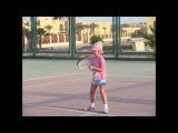 Настя Рожкова теннис
