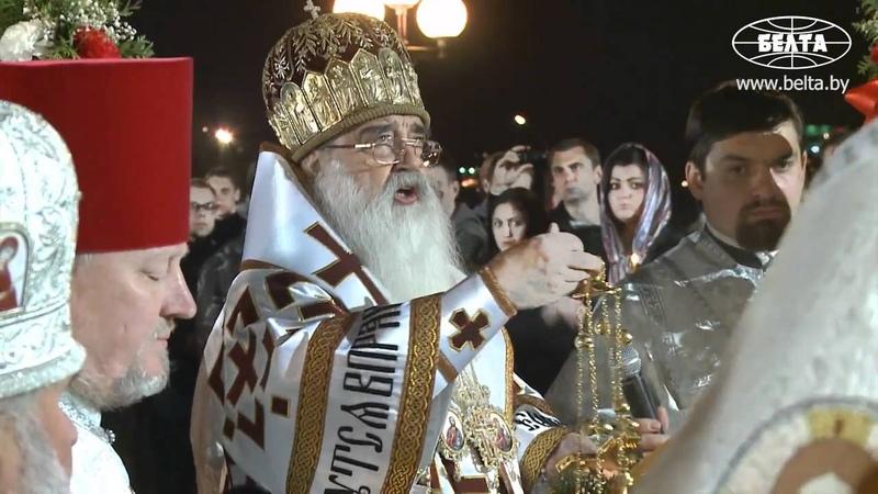 Православные Беларуси празднуют Пасху