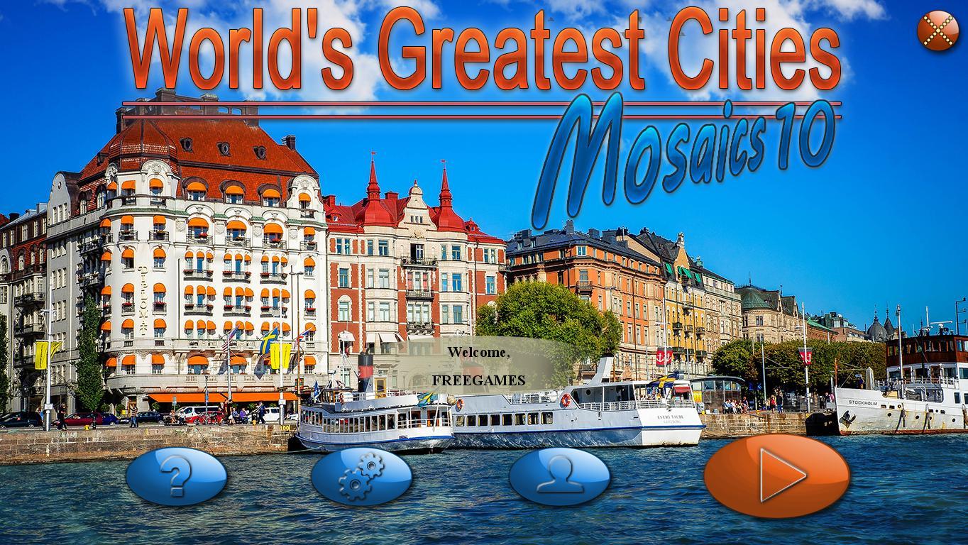 Величайшие города мира. Мозаика 10 | World's Greatest Cities Mosaics 10 (En)