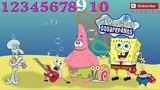 Spongebob with Friends 2015 Learning Numbers 1to10 SquarePants SCHWAMMKOPF SpongyaBob