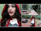 DIY Костюм на Хэллоуин | Красная Шапочка
