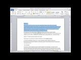 Microsoft Word. Урок №1. Интерфейс программы.