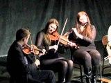 Caitlin Nic Gabhann Ciaran O Maonaigh and the Friel sisters at Theatre 80 William Barnacle Tavern