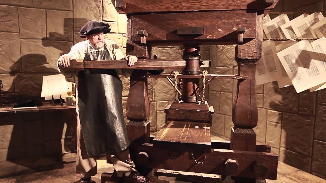 Печатный станок | История и типы