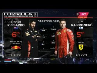 F1 2018: SINGAPORE GP - RACE!