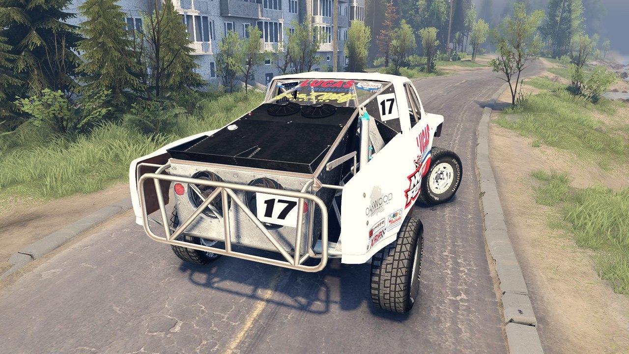 Chevrolet Silverado Baja для 22.07.15 BETA для Spintires - Скриншот 3