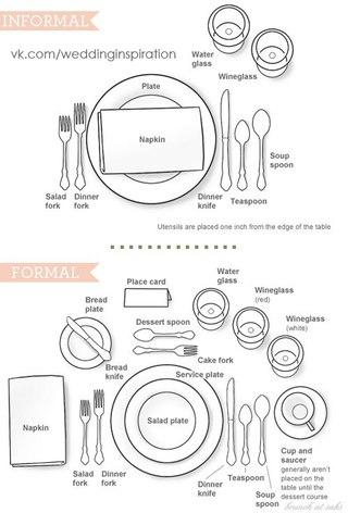 #wi_advice. #wi_table.  Схемы сервировки стола.