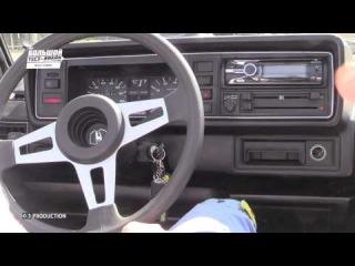 VW Golf 1 Cabrio - Большой тест-драйв / Big Test Drive