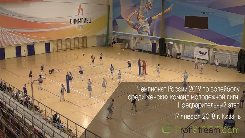 Чемпионат России 2019 по волейболу. Казань