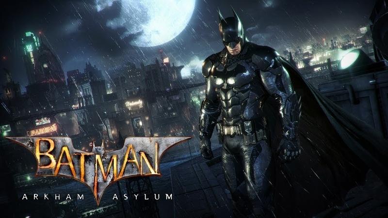 ФИЛЬМ Темный рыцарь Бэтмен против Джокера HD 2018 | ИГРОФИЛЬМ Batman Arkham Asylum