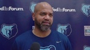 J.B. Bickerstaff on Anthony Davis, Lebron James and Jaren Jackson Jr.'s progression - 12/6/18