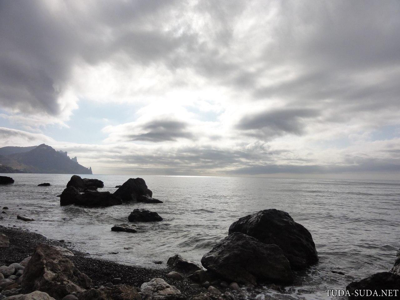 Побережье Черного моря фото