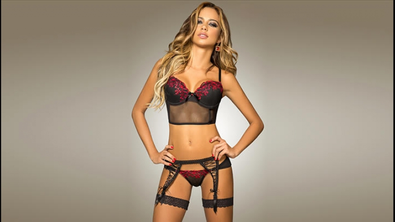Catalina Otalvaro in Besame lingerie collection 2014