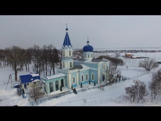 Троицкий храм село Лебяжье