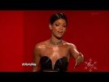 Rihanna wins Soul/R&B Female - American Music Awards 2013
