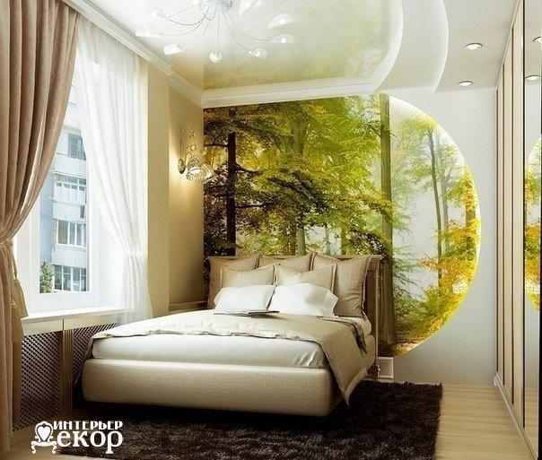 Очень милая спальня (1 фото) - картинка