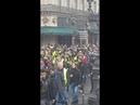 Opera 14h30 samedi 1dec 18 une foule geante de gilets jaunes