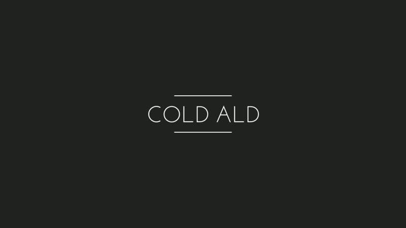 интро COLD ALD