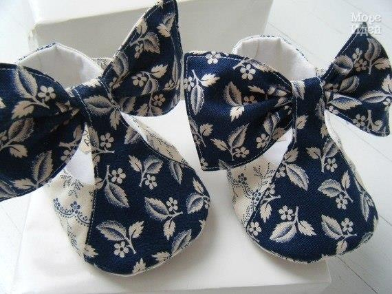 Шьем пинетки туфельки для малышей (9 фото) - картинка