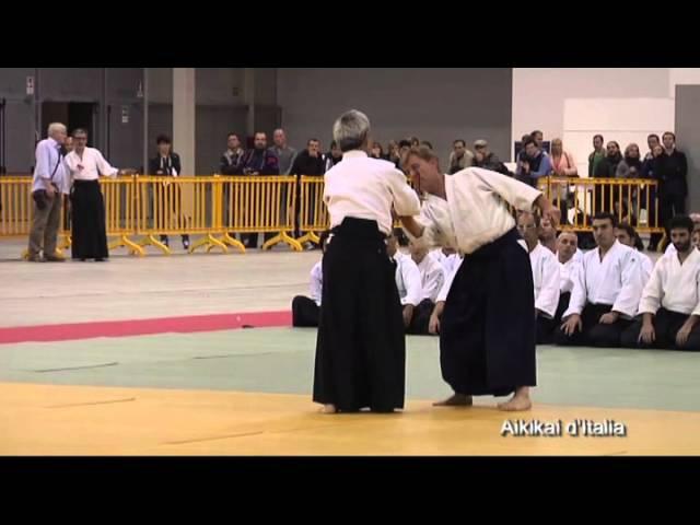 Embukai del maestro Kitaura al 50nnale Aikikai d'Italia