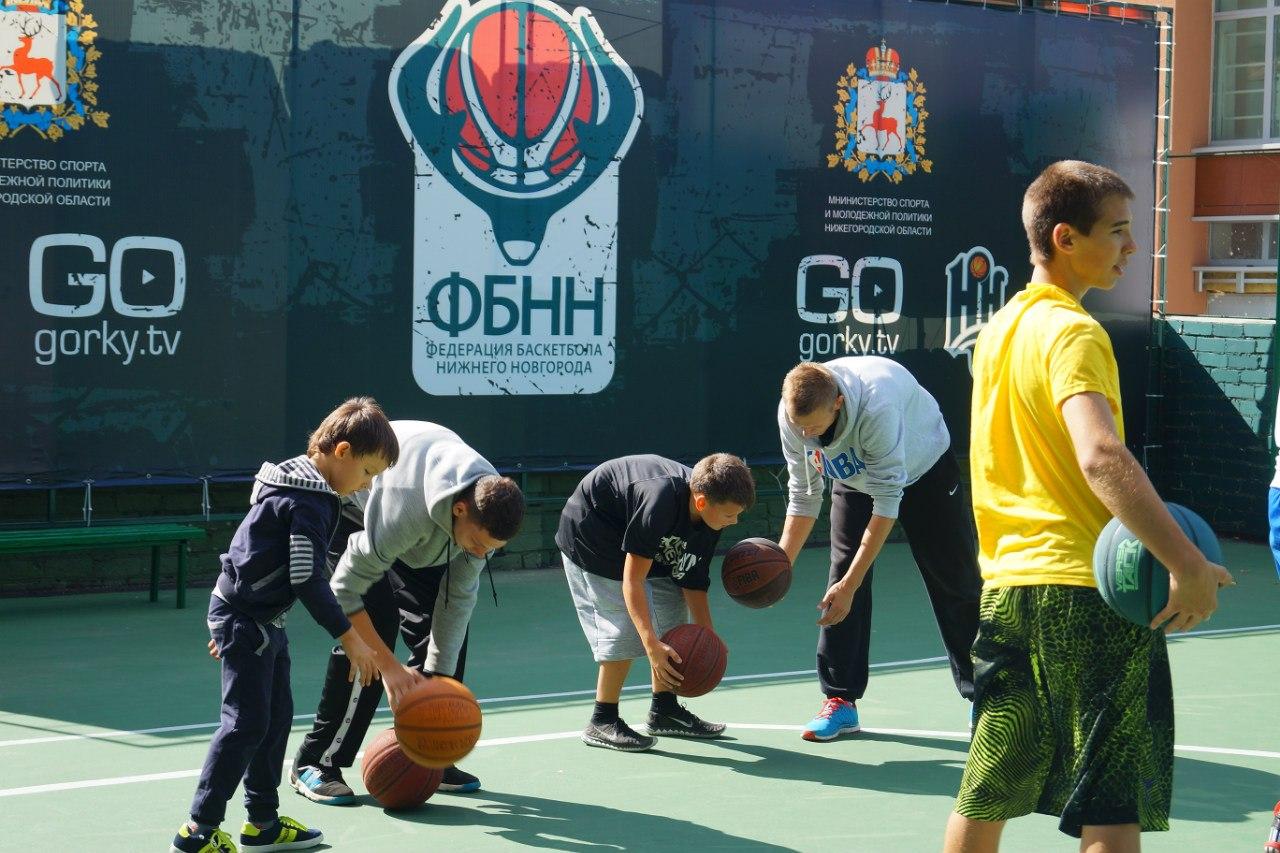 Школьный тренировочный лагерь #ФБНН