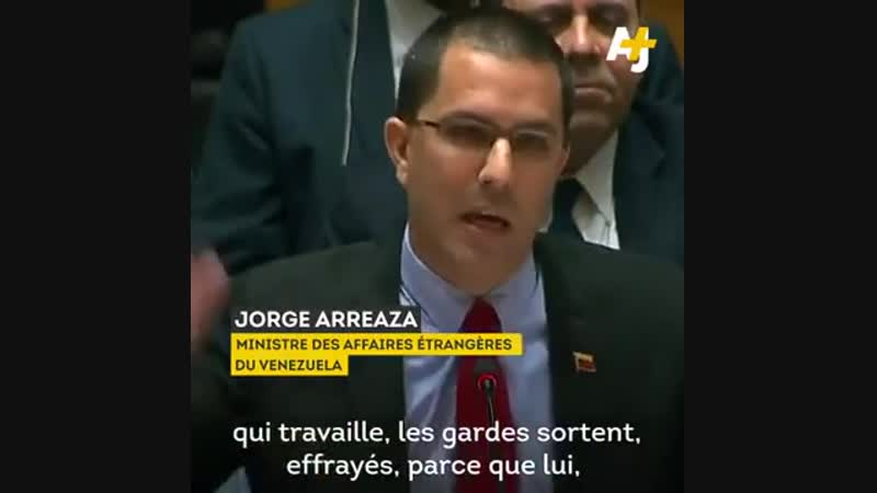 Question d'un ministre vénézuélien Emmanuel Macron a t il son mot à dire sur la crise au Venezuela
