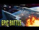 [Captain Jack] NEW REPUBLIC FLEET vs SITH EMPIRE! - STAR WARS Empire at War [Yoden Mod]