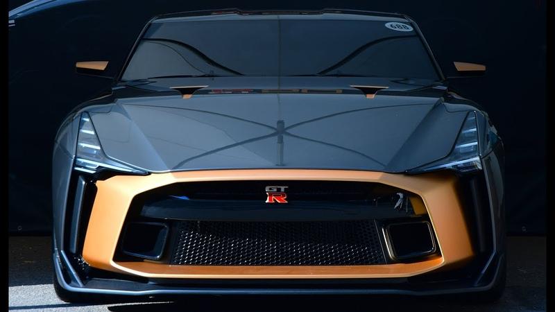 Nissan GT-R50 - Japanese performance and Italian craftsmanship