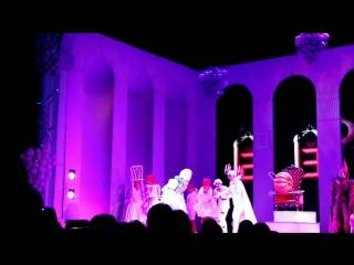 Мюзикл Всё о Золушке, отрывок (Война, Часы, Дуэт Короля и Феи-крёстной)